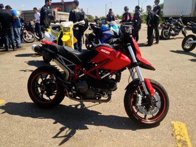 Red Ducati