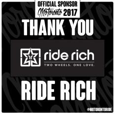 MoToronto Sponsor RideRich